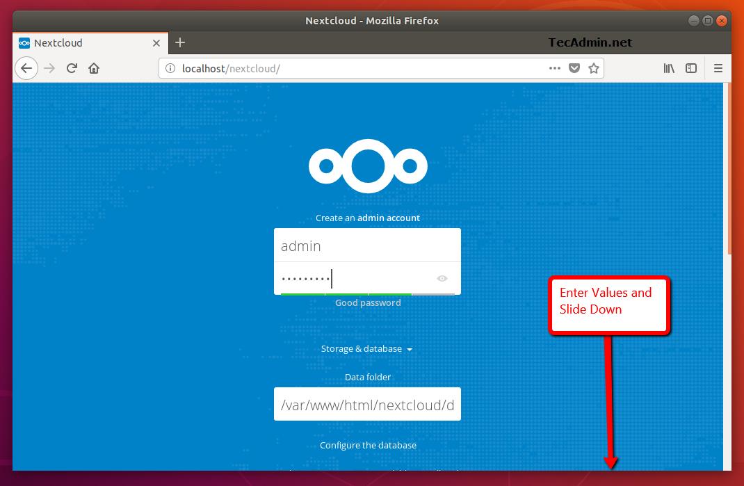 How to Install Nextcloud on Ubuntu 16.04 (Xenial)