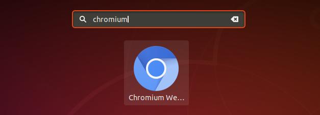 launch chromium ubuntu