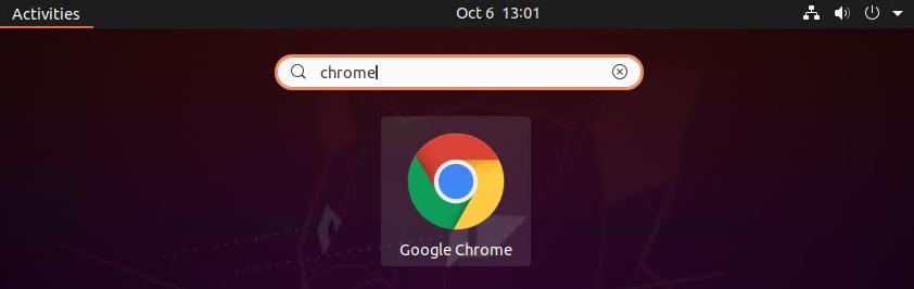 launch chrome ubuntu 20.04